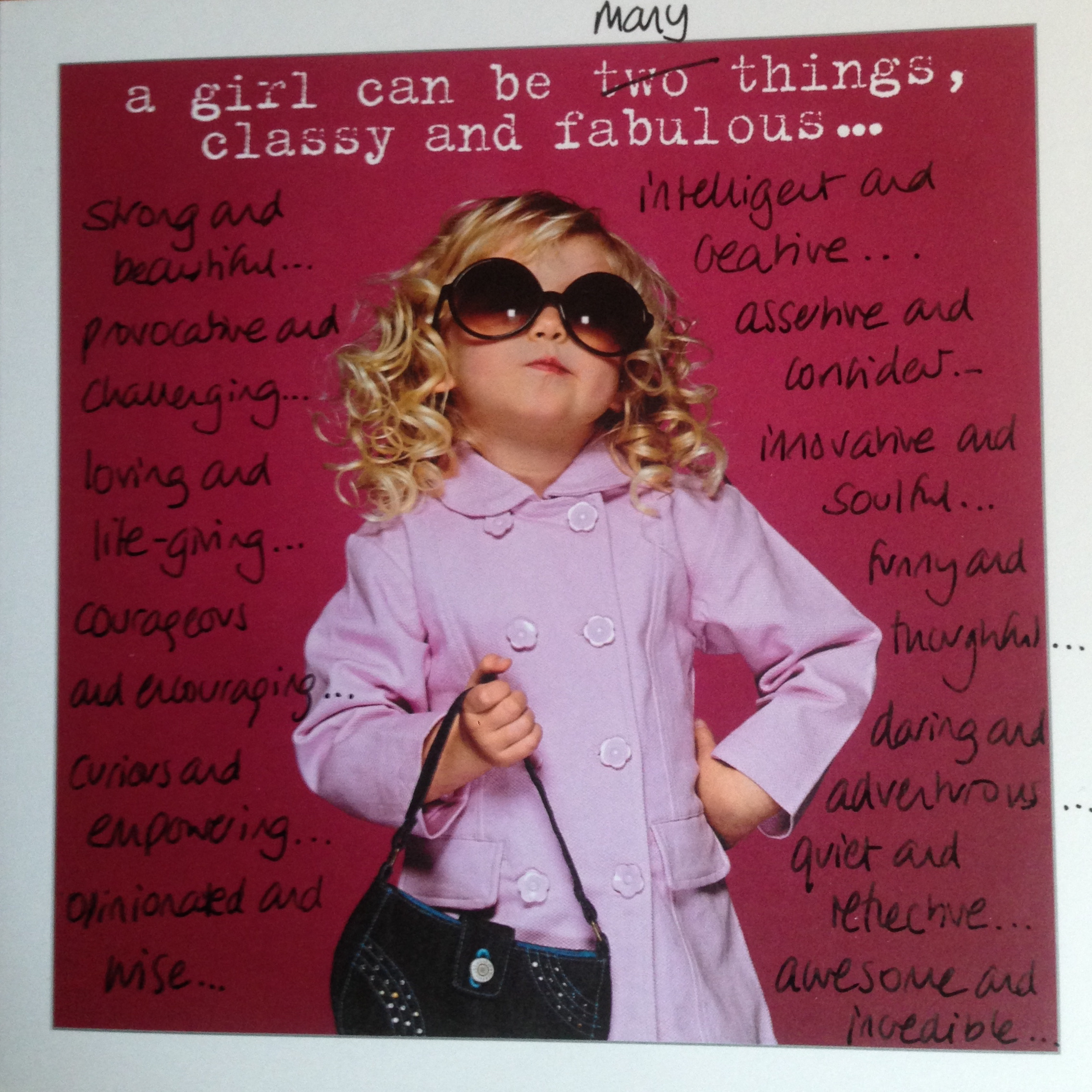 I Have Four Nieces And Every Time Go To Buy A Birthday Card For Them Despair Of Whats On Offer They Are All Creative Smart Independent Young Women
