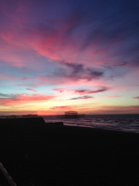 brighton sunrise