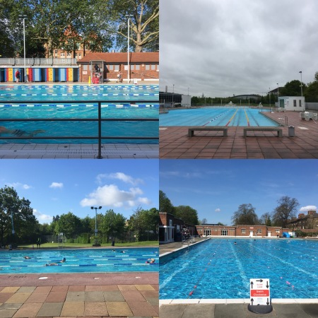 four pools
