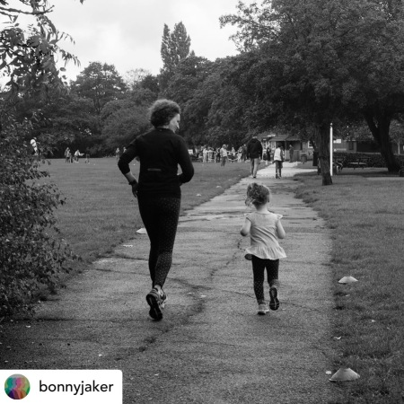 me and Flo at parkrun