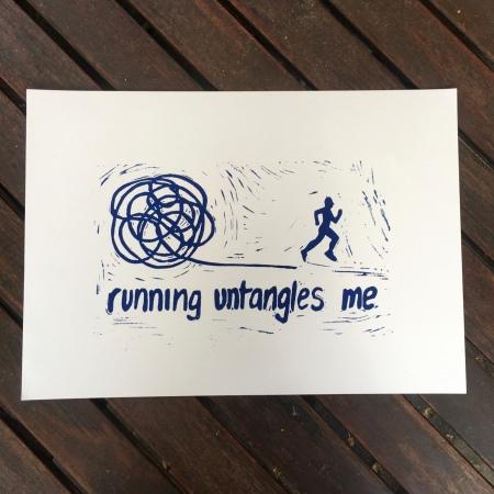 running untangles me